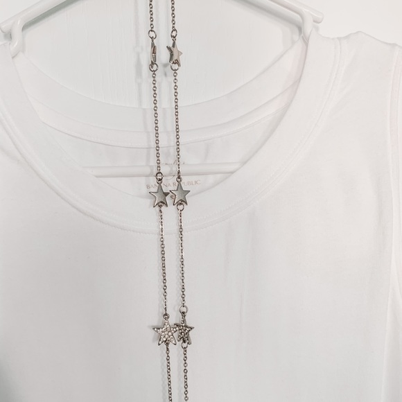 Forever 21 Jewelry - 💙3/$12 Forever 21 Long Silver Star Necklace